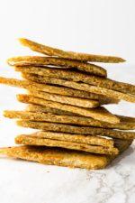 crunch keto tortilla chip stack
