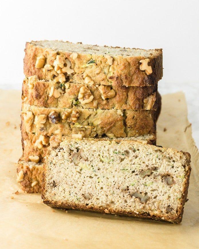 keto zucchini bread low carb