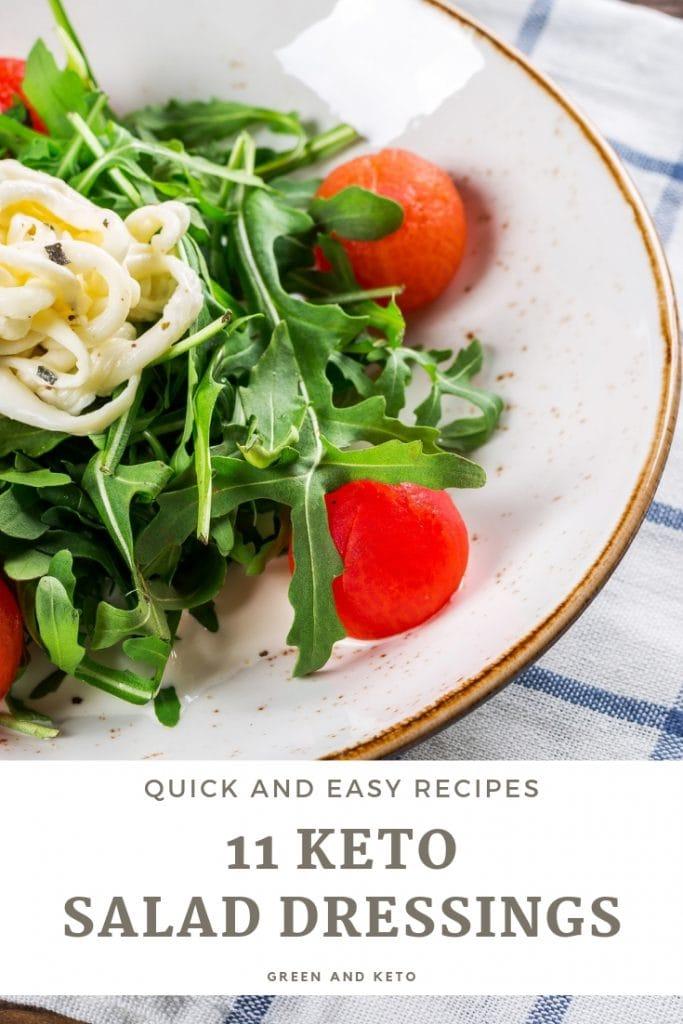 11 Quick Keto Salad Dressing Recipes