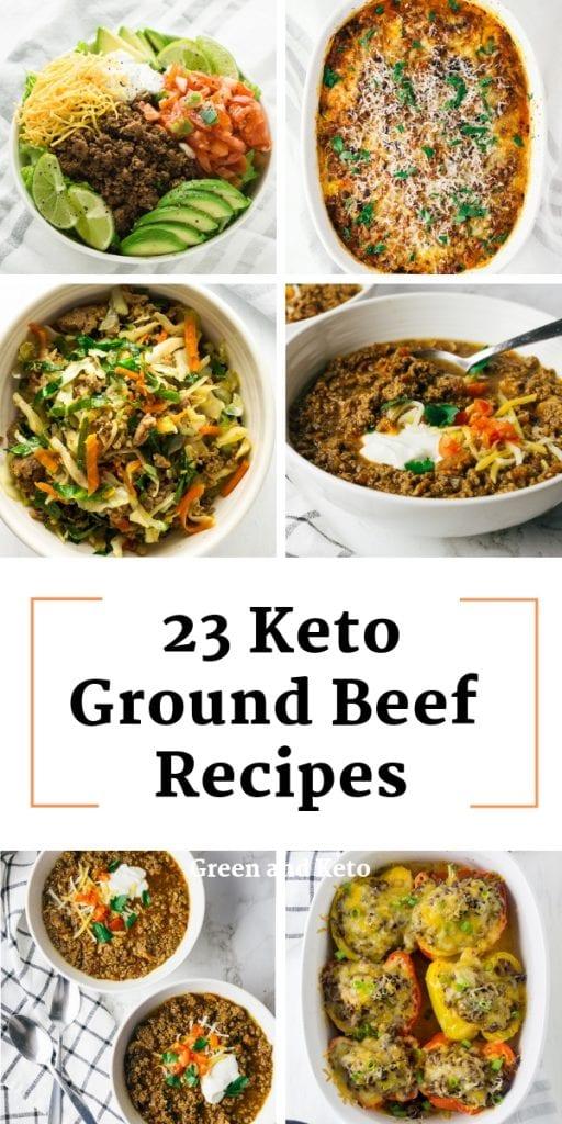 23 Easy Keto Ground Beef Recipes