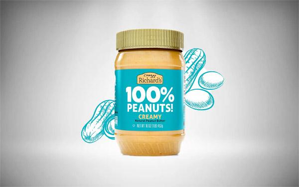 Crazy Richard's Creamy Peanut Butter, 100% Natural, Non-GMO, Gluten-Free