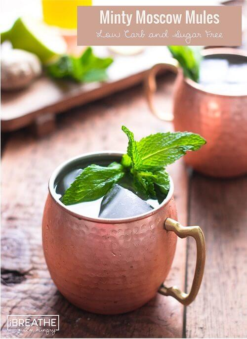 keto cocktails moscow mule