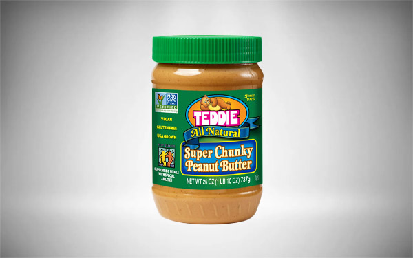 Teddie All Natural Peanut Butter, Super Chunky