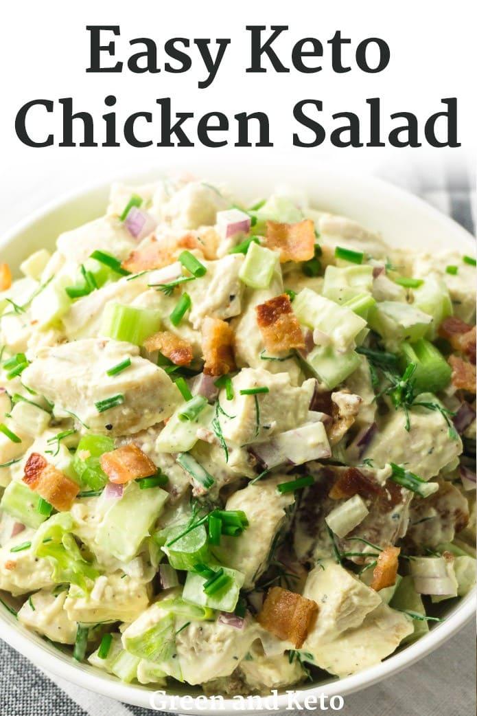 easy keto chicken salad