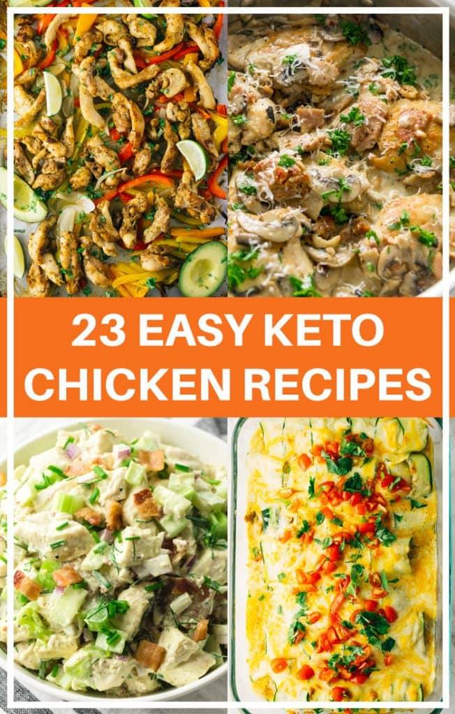 23 Easy Keto Chicken Recipes