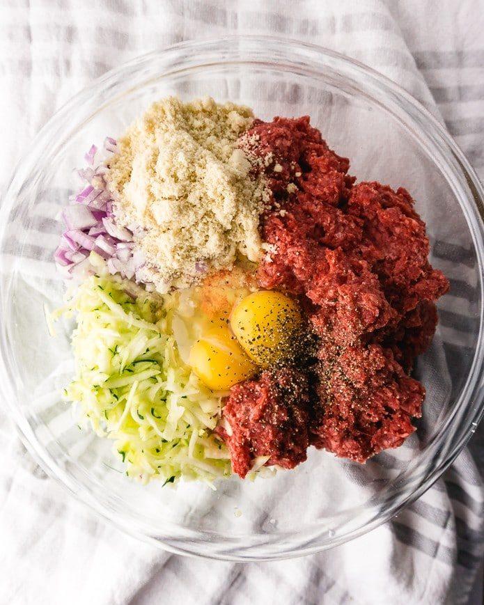 ingredients for keto meatloaf