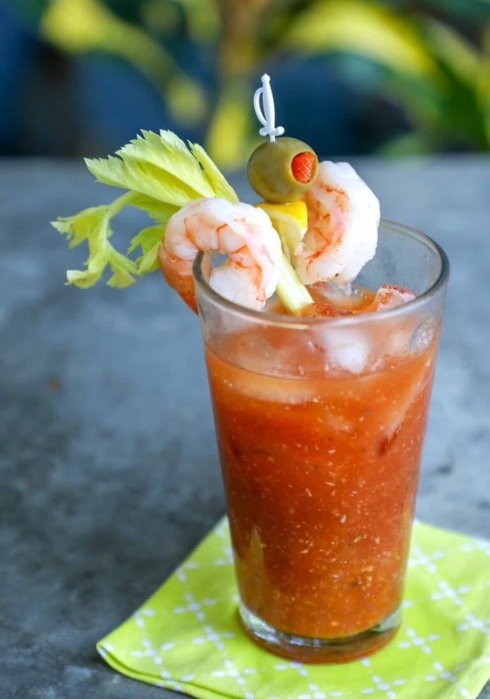 keto cocktail bloody mary