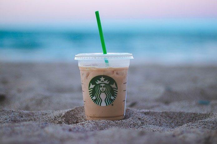 keto iced latte at starbucks