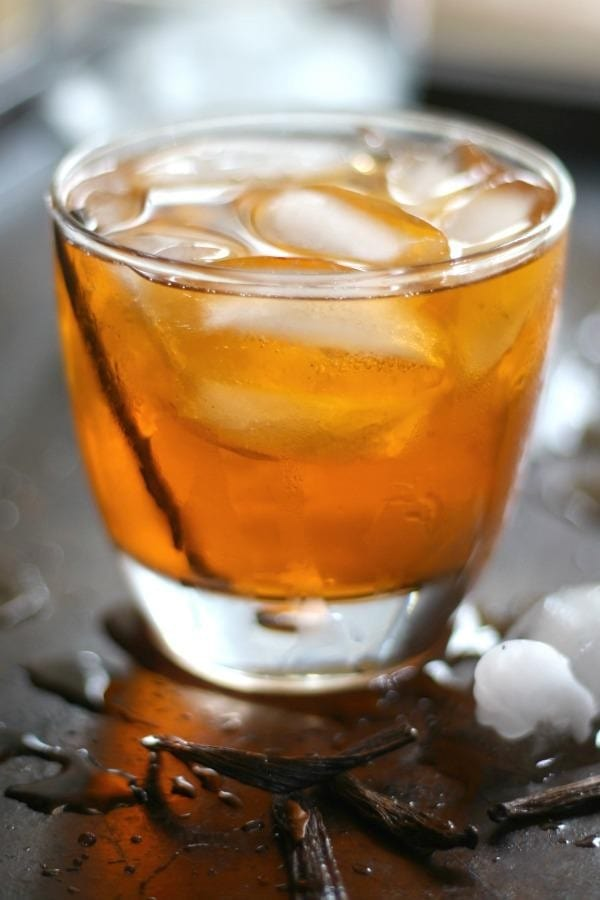 keto mixed drink old fashioned