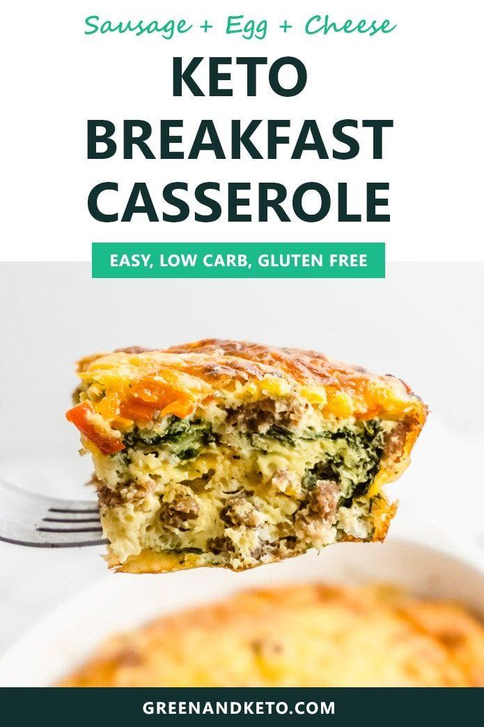 keto breakfast casserole