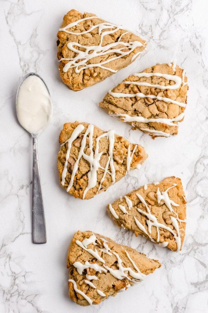 nutty gluten-free low-carb scones