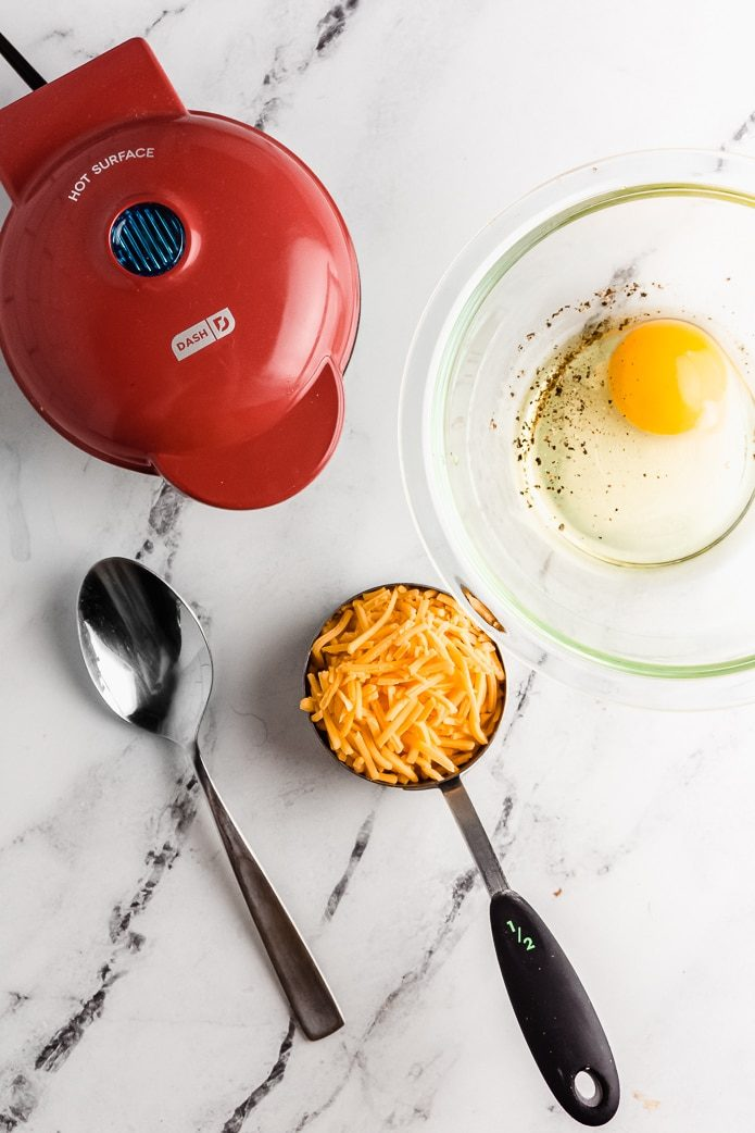 ingredients to made keto chaffles