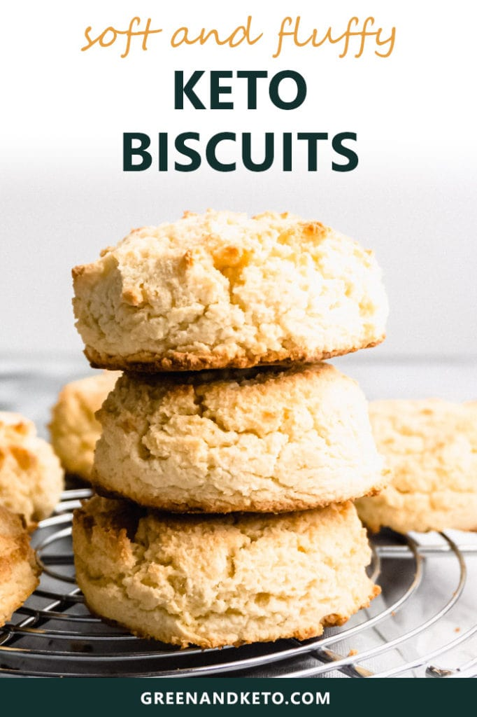 Keto Biscuits Recipe with Low-Carb Almond Flour
