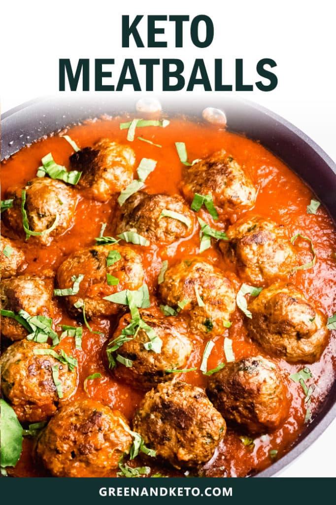 The Best Keto Meatballs – Gluten-free without Breadcrumbs