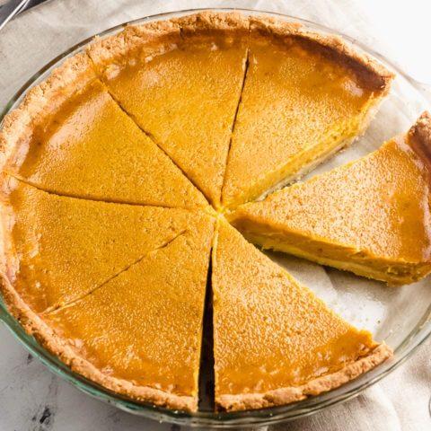 Keto Pumpkin Pie - Sugar Free