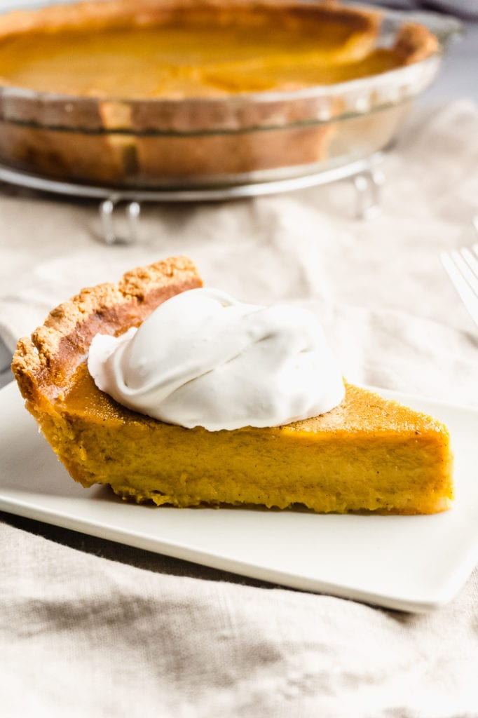 Keto Pumpkin Pie – Sugar Free