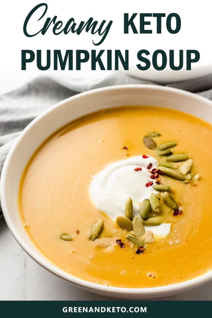 Creamy Keto Pumpkin Soup