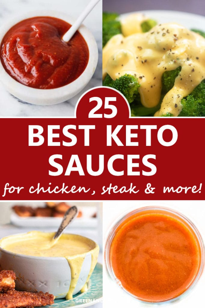 25 Delicious Keto Sauces Recipes for Chicken, Steak, and More!