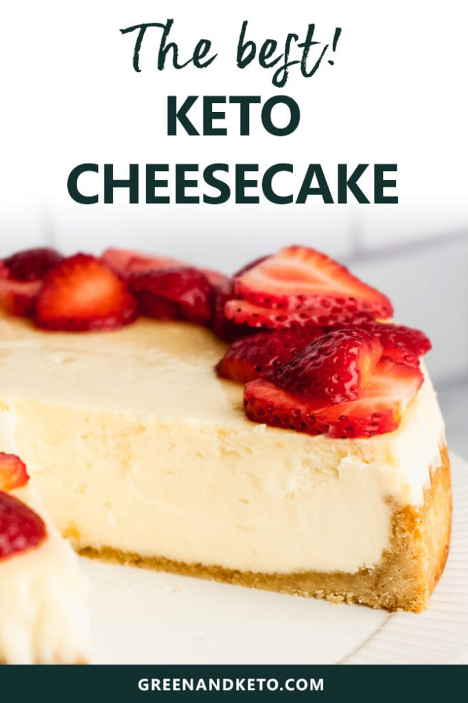 The Best Keto Low-Carb Cheesecake