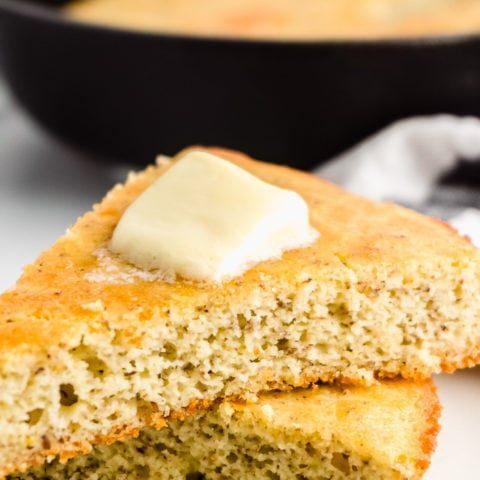 Keto Cornbread - Low Carb and Gluten-Free