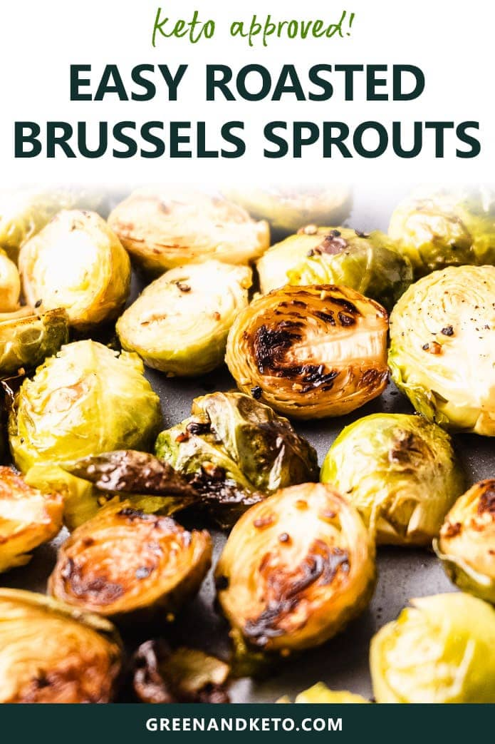 keto friendly roasted brussels sprouts