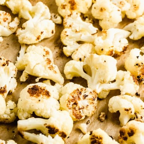 Easy Oven Roasted Cauliflower