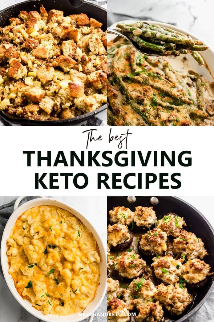 thanksgiving keto recipes