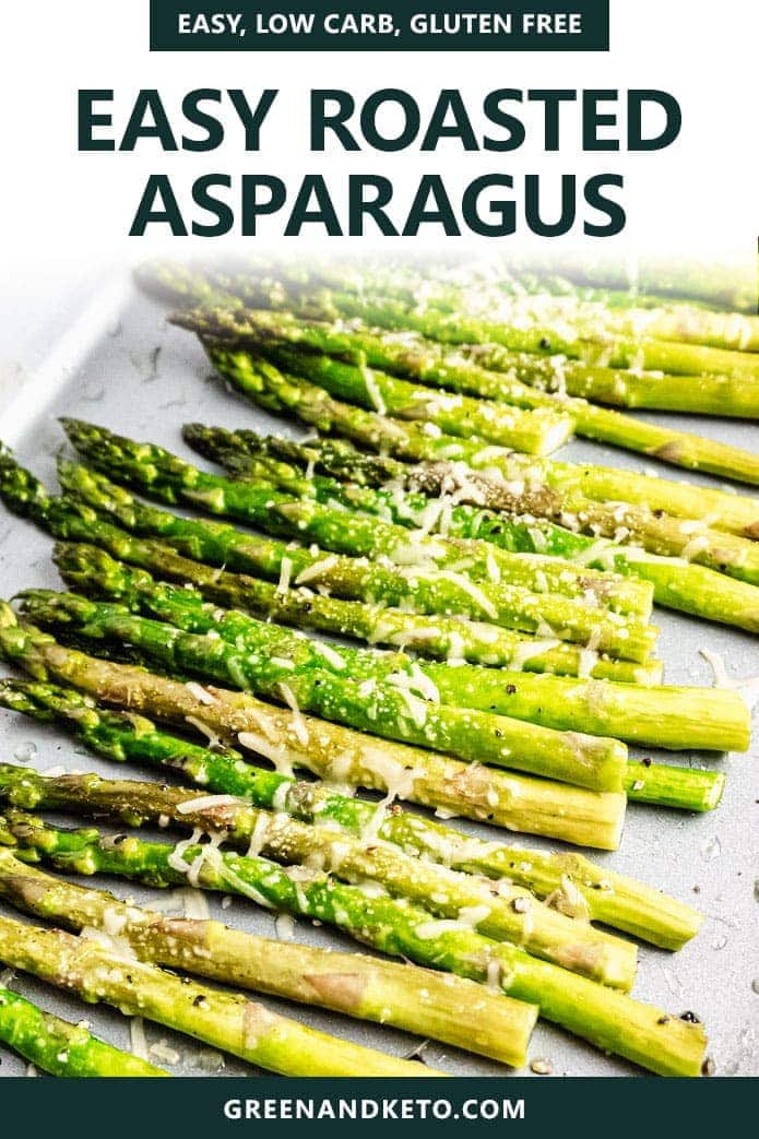 easy, low carb oven roasted asparagus