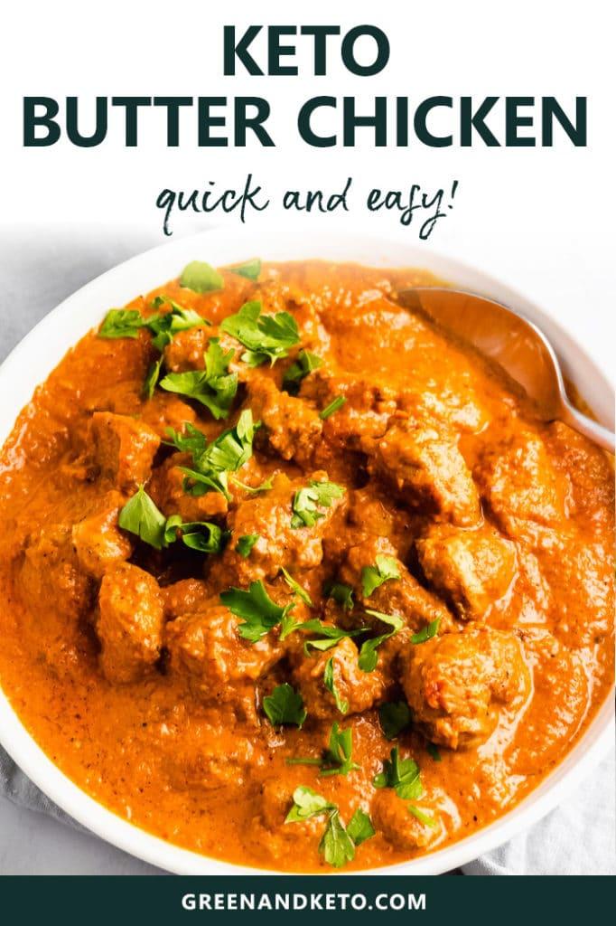 Keto Butter Chicken – Quick and Easy Recipe