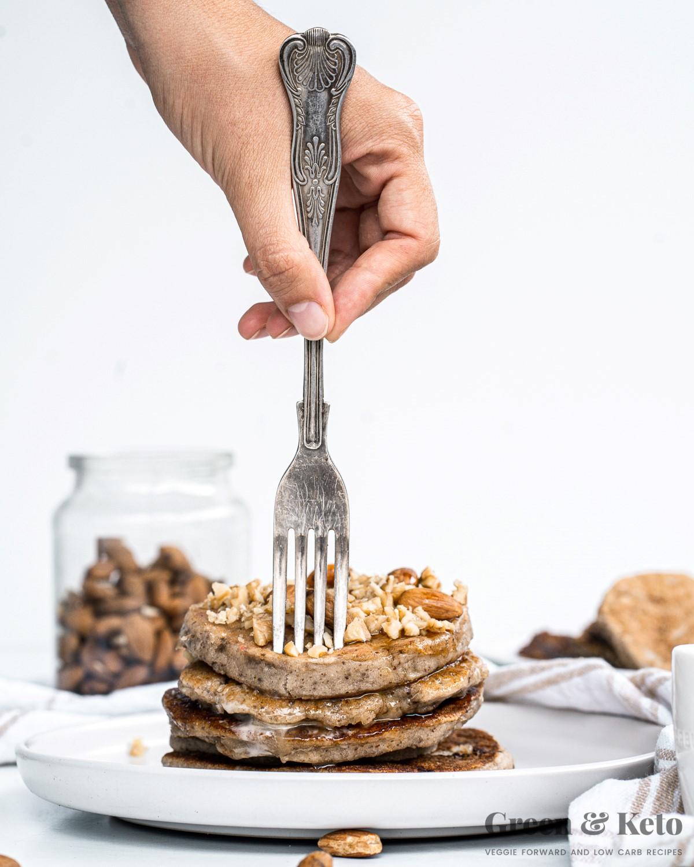 Keto pancakes almond flour