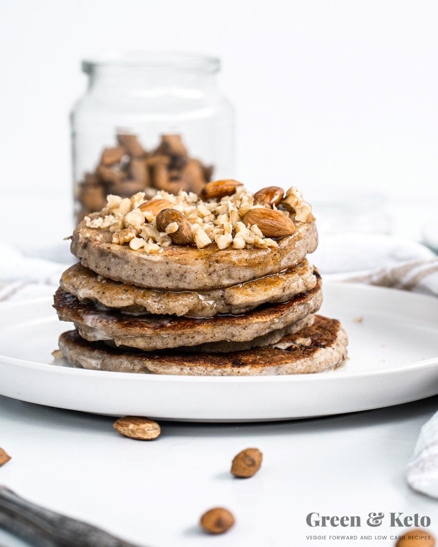 how to make keto pancakes with almond flour