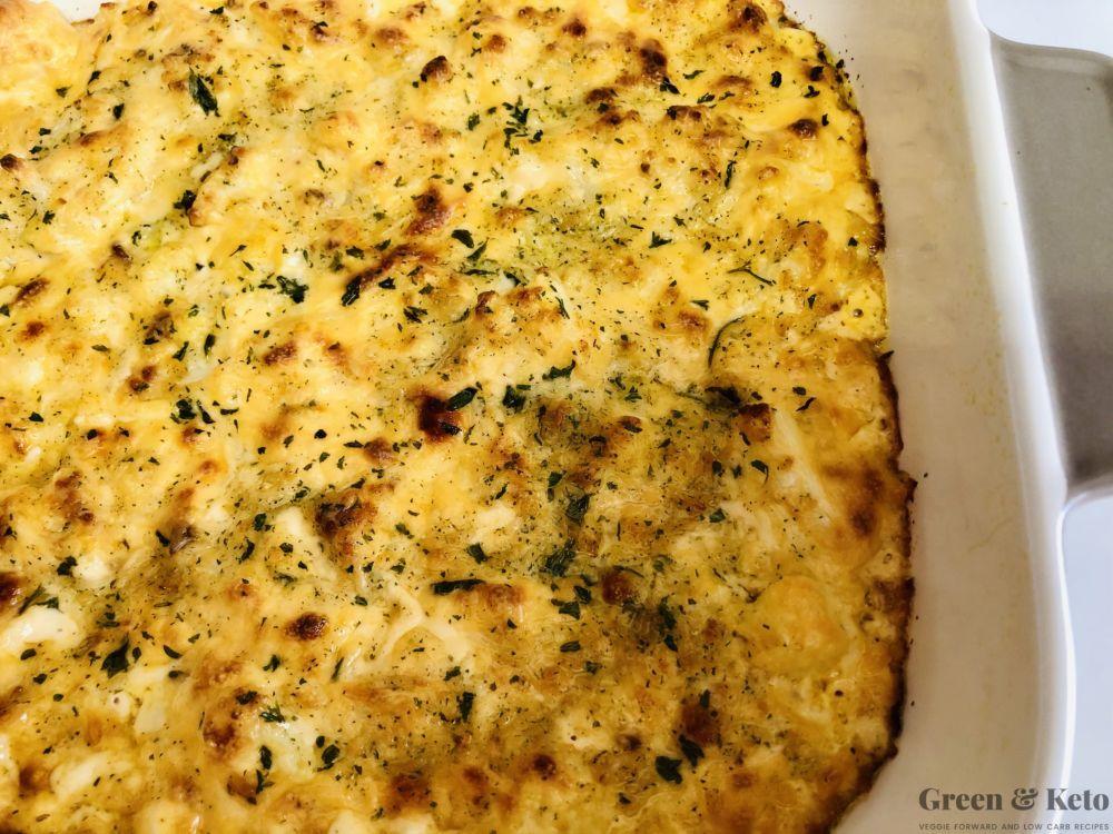cauliflower mac and cheese keto