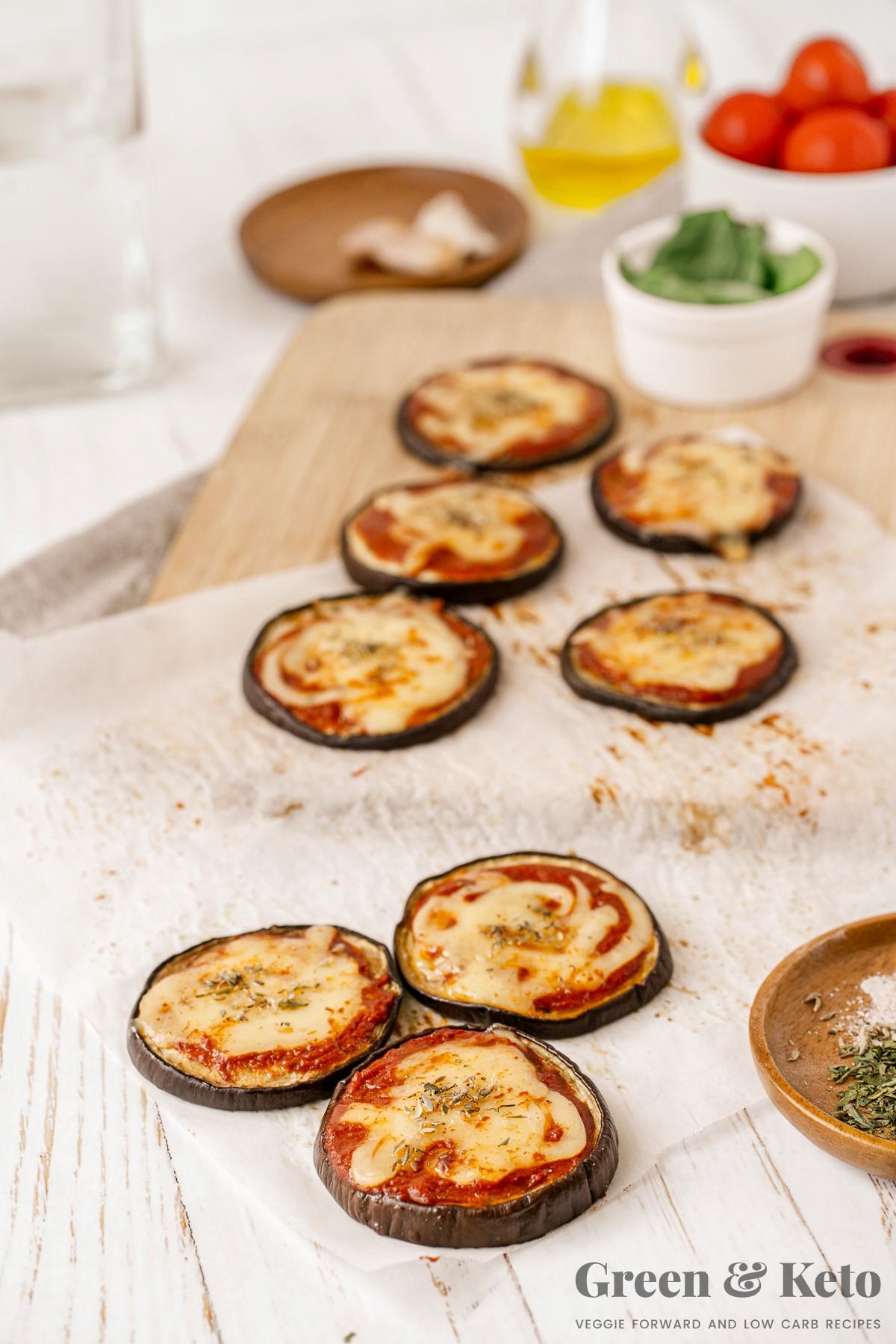 Keto Eggplant Parmesan (Recipe)