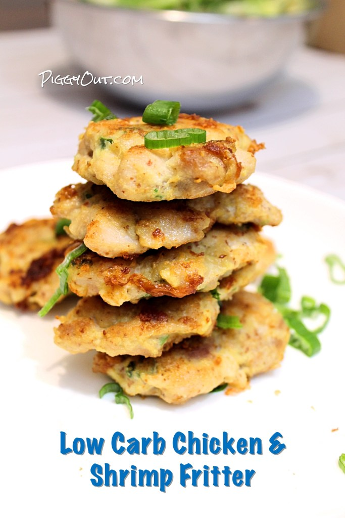 Chicken and Shrimp Fritters